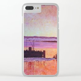 What a beautiful sunset! Clear iPhone Case