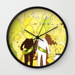 Lemonfamily Wall Clock