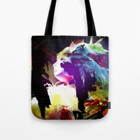 philosophy Tote Bags featuring Philosophy of Adoration by DJ Carey