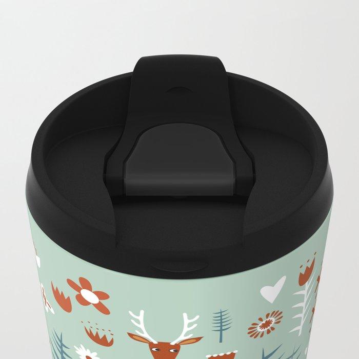 Cuckoo Clock Metal Travel Mug