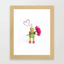 Love machine 2 Framed Art Print