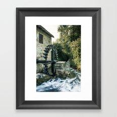 Ye olde mill Framed Art Print