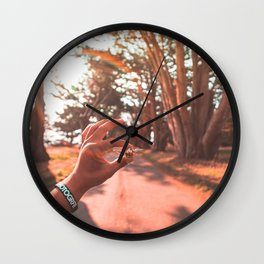 Sun Flare Golden Snitch Wall Clock