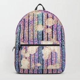 Glitter Pink Grunge Splatter Backpack