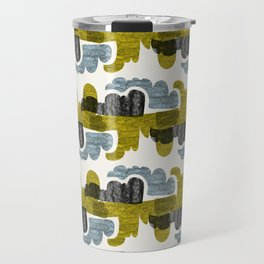 crowded clouds Travel Mug