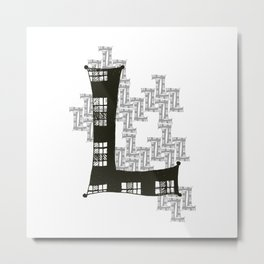 Color Me L Metal Print