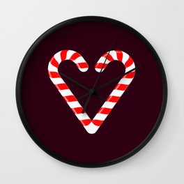 Candy Cane! Wall Clock
