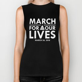 March for Our Lives Biker Tank
