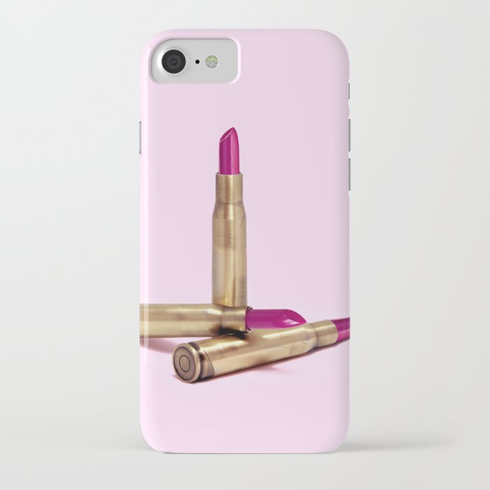 LIPSTICK BULLET iPhone Case