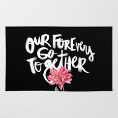Our Forevers Go Together Rug