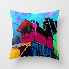 Color Silo Throw Pillow