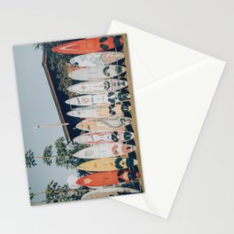lets surf xv Stationery Cards