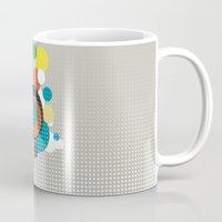 bubbles Mugs featuring bubbles by Heinz Aimer