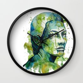 Paulina by carographic Wall Clock
