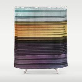 Amanda Wants Stripes Shower Curtain