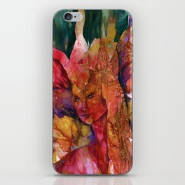 Fire Fairy by Kathy Morton Stanion iPhone Skin