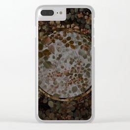 Tranquil Botanics (v.II) Clear iPhone Case