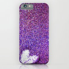 Glittering Heart iPhone 6s Slim Case