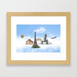 European Traveler Framed Art Print