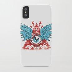 Pyramid Eye iPhone X Slim Case