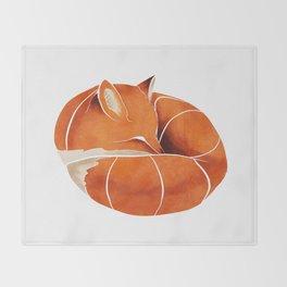 Fox 3 Throw Blanket
