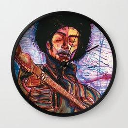 Guitarcolor Wall Clock
