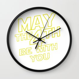 May the Fourth Wall Clock