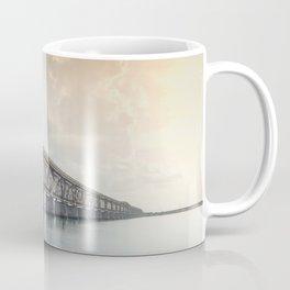 Bahia Honda Rail Bridge at Sunset Coffee Mug