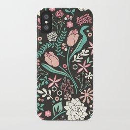 Tulip flowerbed iPhone Case