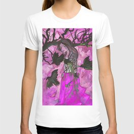Raven Witch - Bright Purple T-shirt