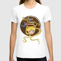 pie T-shirts featuring Moon Pie by Ashley Hay