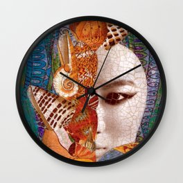 Mermaid Mystery Wall Clock