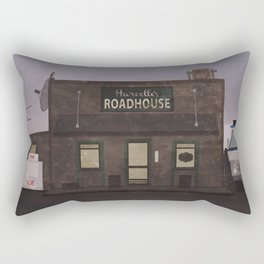The Harvelle's Roadhouse Supernatural Rectangular Pillow