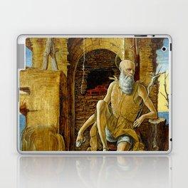 Ercole de'Roberti Saint Jerome in the Desert Laptop & iPad Skin