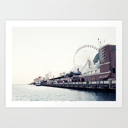 Chicago Memories Art Print
