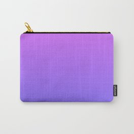 Violet and Blue Gradient Carry-All Pouch