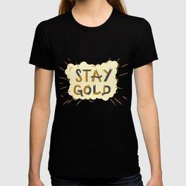 Stay Gold Print T-shirt