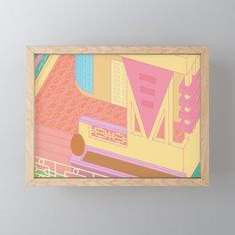 Santiago 110 Framed Mini Art Print