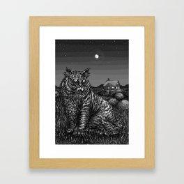 Felix, Bringer of Gifts Framed Art Print