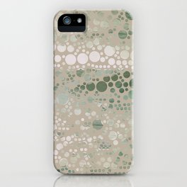 Sea Glass -- Abstract  iPhone Case
