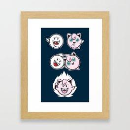 Jigglyboo Fusion Framed Art Print