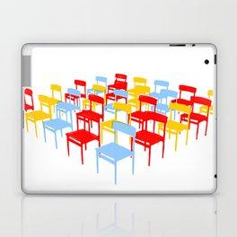 25 Chairs Laptop & iPad Skin