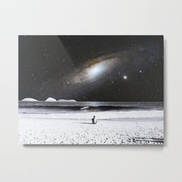 The Old Man and the Sea Metal Print