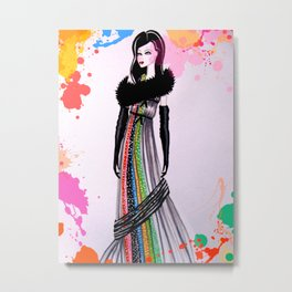 Colour My World Metal Print