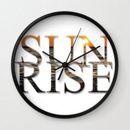 SUN RISE Wall Clock