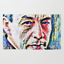 Sergei Rachmaninoff (Serghei Rahmaninov) in 1921 (digitized photography) Rug