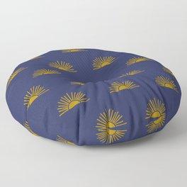 Sol in Indigo Floor Pillow