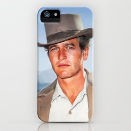 Paul Newman, Hollywood Legend iPhone Case