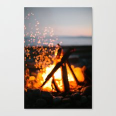 bonfire Canvas Print