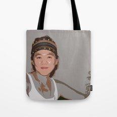 China Girl Tote Bag